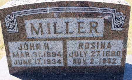MILLER, JOHN H. - Logan County, North Dakota | JOHN H. MILLER - North Dakota Gravestone Photos