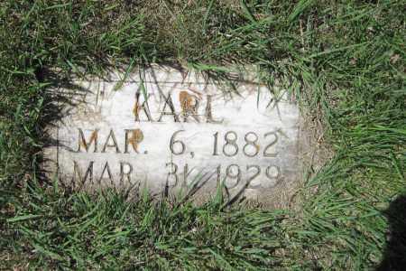MILLER, KARL - Logan County, North Dakota | KARL MILLER - North Dakota Gravestone Photos