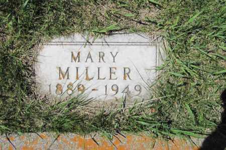 MILLER, MARY - Logan County, North Dakota | MARY MILLER - North Dakota Gravestone Photos