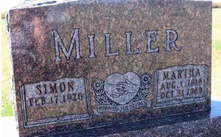 MILLER, MARTHA - Logan County, North Dakota | MARTHA MILLER - North Dakota Gravestone Photos