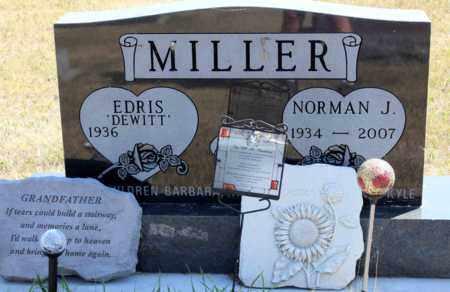 MILLER, NORMAN J. - Logan County, North Dakota | NORMAN J. MILLER - North Dakota Gravestone Photos