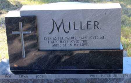 MILLER, EMMA - Logan County, North Dakota | EMMA MILLER - North Dakota Gravestone Photos