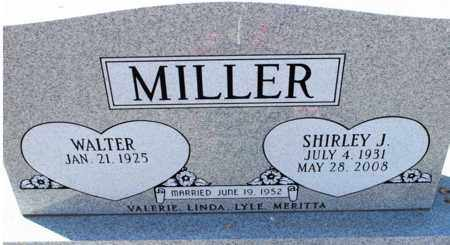 MILLER, SHIRLEY J. - Logan County, North Dakota | SHIRLEY J. MILLER - North Dakota Gravestone Photos