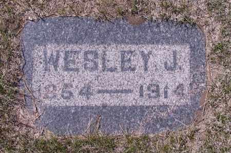 MILLER, WESLEY J. - Logan County, North Dakota | WESLEY J. MILLER - North Dakota Gravestone Photos