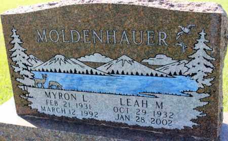 MOLDENHAUER, LEAH M. - Logan County, North Dakota | LEAH M. MOLDENHAUER - North Dakota Gravestone Photos