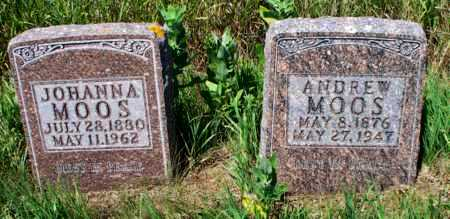 GIMBLE MOOS, JOHANNA - Logan County, North Dakota | JOHANNA GIMBLE MOOS - North Dakota Gravestone Photos