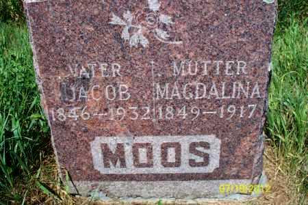 MOOS, MAGDALINA - Logan County, North Dakota | MAGDALINA MOOS - North Dakota Gravestone Photos
