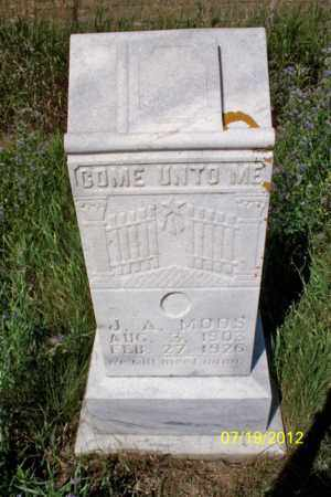 "MOOS, J. A. ""JOHN"" - Logan County, North Dakota | J. A. ""JOHN"" MOOS - North Dakota Gravestone Photos"