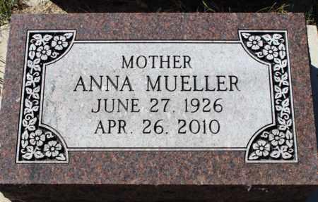 MUELLER, ANNA - Logan County, North Dakota | ANNA MUELLER - North Dakota Gravestone Photos