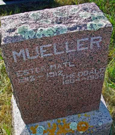 MUELLER, THEOBALD - Logan County, North Dakota   THEOBALD MUELLER - North Dakota Gravestone Photos
