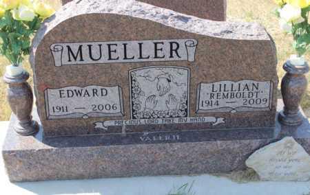 MUELLER, EDWARD - Logan County, North Dakota | EDWARD MUELLER - North Dakota Gravestone Photos