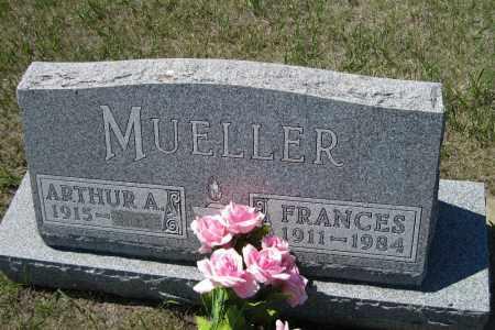 MUELLER, FRANCES - Logan County, North Dakota | FRANCES MUELLER - North Dakota Gravestone Photos