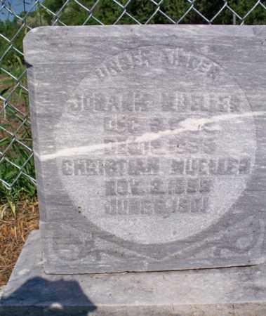 MUELLER, JOHANN - Logan County, North Dakota | JOHANN MUELLER - North Dakota Gravestone Photos