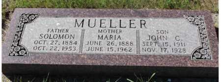 MUELLER, JOHN C. - Logan County, North Dakota | JOHN C. MUELLER - North Dakota Gravestone Photos