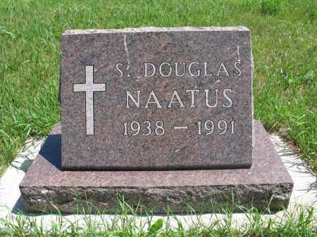 NAATUS, S. DOUGLAS - Logan County, North Dakota | S. DOUGLAS NAATUS - North Dakota Gravestone Photos