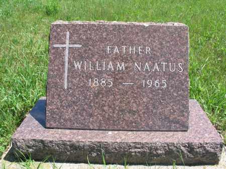 NAATUS, WILLIAM - Logan County, North Dakota   WILLIAM NAATUS - North Dakota Gravestone Photos