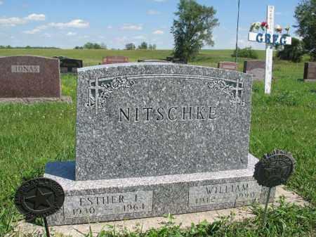 NITSCHKE 156, WILLIAM - Logan County, North Dakota | WILLIAM NITSCHKE 156 - North Dakota Gravestone Photos