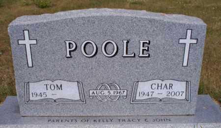 POOLE, CHAR - Logan County, North Dakota | CHAR POOLE - North Dakota Gravestone Photos
