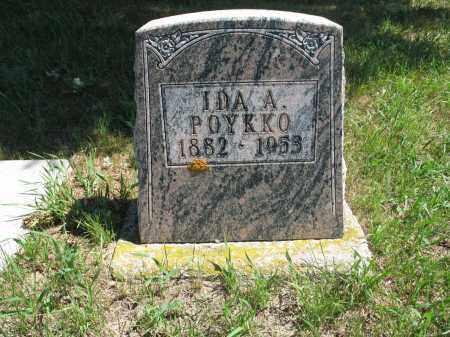 POYKKO, IDA AURORA - Logan County, North Dakota | IDA AURORA POYKKO - North Dakota Gravestone Photos