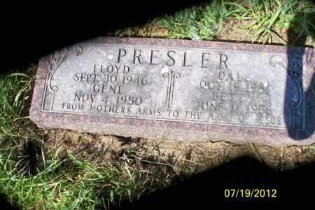 PRESLER, FLOYD - Logan County, North Dakota | FLOYD PRESLER - North Dakota Gravestone Photos