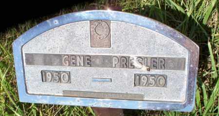 PRESLER, GENE - Logan County, North Dakota | GENE PRESLER - North Dakota Gravestone Photos