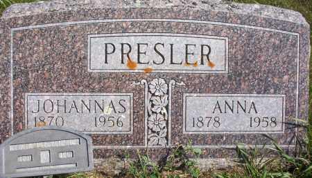 PRESLER, ANNA - Logan County, North Dakota | ANNA PRESLER - North Dakota Gravestone Photos