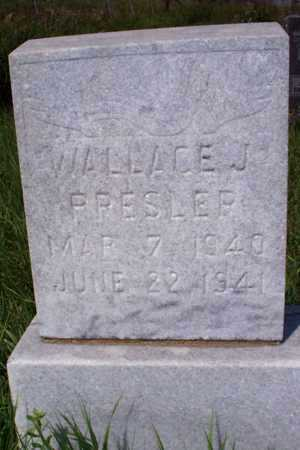 PRESLER, WALLACE J. - Logan County, North Dakota | WALLACE J. PRESLER - North Dakota Gravestone Photos