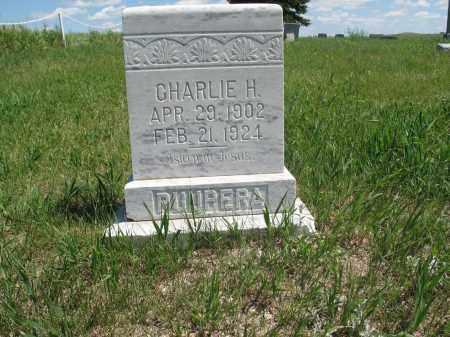 PUUPERA, CHARLIE H. - Logan County, North Dakota | CHARLIE H. PUUPERA - North Dakota Gravestone Photos