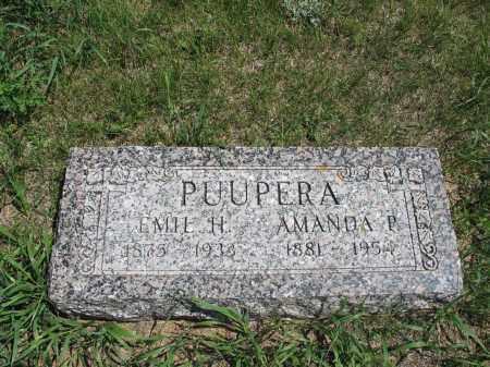 PUUPERA, EMIL H. - Logan County, North Dakota | EMIL H. PUUPERA - North Dakota Gravestone Photos