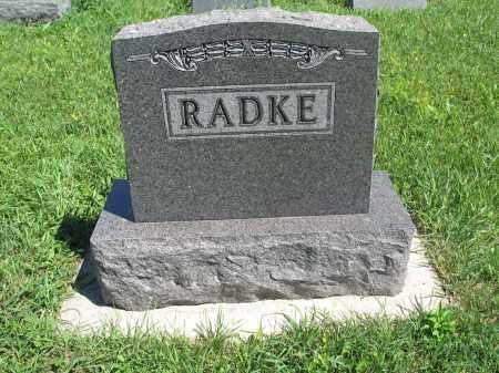 RADKE 139, FAMILY (DANIEL) MARKER - Logan County, North Dakota | FAMILY (DANIEL) MARKER RADKE 139 - North Dakota Gravestone Photos