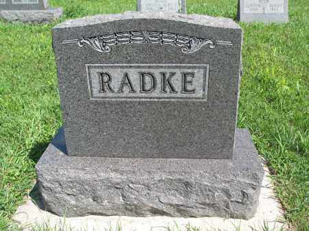 RADKE 163, FAMILY (DANIEL) MARKER - Logan County, North Dakota | FAMILY (DANIEL) MARKER RADKE 163 - North Dakota Gravestone Photos