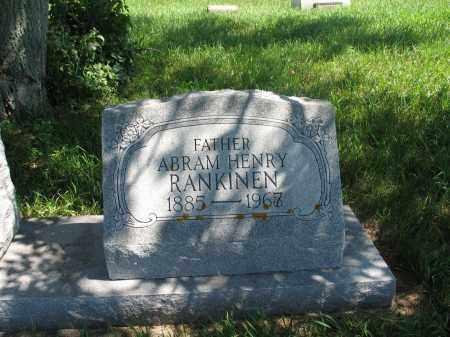 RANKINEN, ABRAM HENRY - Logan County, North Dakota | ABRAM HENRY RANKINEN - North Dakota Gravestone Photos