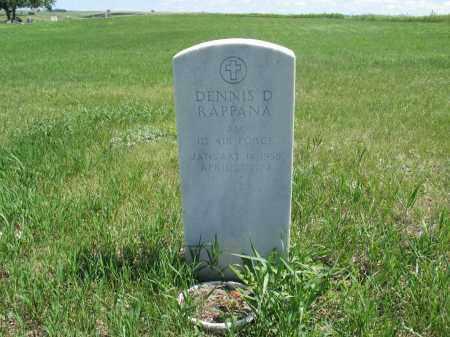 RAPPANA, DENNIS D. - Logan County, North Dakota | DENNIS D. RAPPANA - North Dakota Gravestone Photos