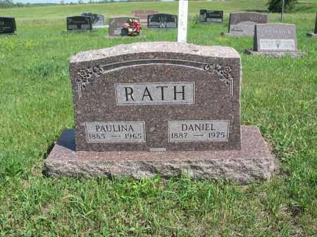 RATH 155, PAULINA - Logan County, North Dakota   PAULINA RATH 155 - North Dakota Gravestone Photos