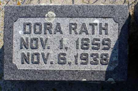 "RATH, DOROTHY ""DORA"" - Logan County, North Dakota | DOROTHY ""DORA"" RATH - North Dakota Gravestone Photos"