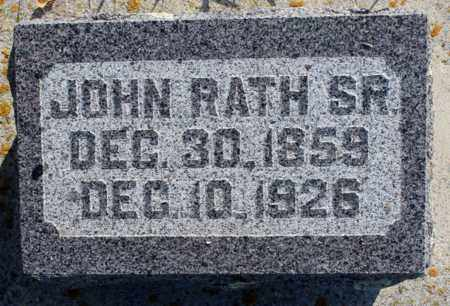 RATH, JOHN, SR. - Logan County, North Dakota | JOHN, SR. RATH - North Dakota Gravestone Photos