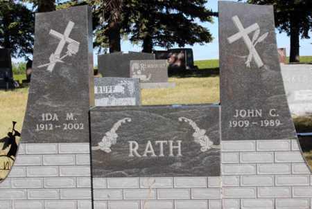 RATH, IDA M. - Logan County, North Dakota | IDA M. RATH - North Dakota Gravestone Photos