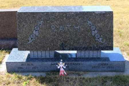 RATH, EMMA - Logan County, North Dakota | EMMA RATH - North Dakota Gravestone Photos