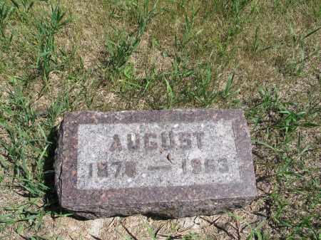 ELGLAND, AUGUST - Logan County, North Dakota | AUGUST ELGLAND - North Dakota Gravestone Photos