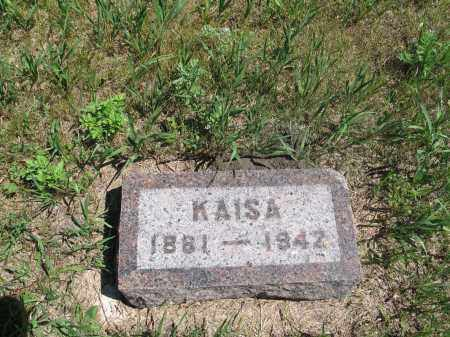 ELGLAND, KAISA - Logan County, North Dakota | KAISA ELGLAND - North Dakota Gravestone Photos