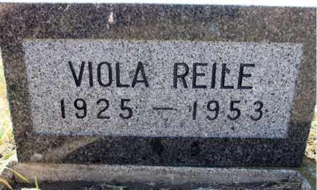 REILE, VIOLA - Logan County, North Dakota | VIOLA REILE - North Dakota Gravestone Photos