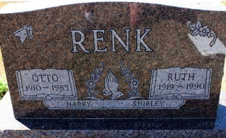 RENK, OTTO - Logan County, North Dakota | OTTO RENK - North Dakota Gravestone Photos
