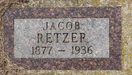 RETZER, JACOB - Logan County, North Dakota   JACOB RETZER - North Dakota Gravestone Photos