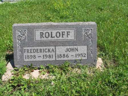 ROLOFF 082, JOHN JR. - Logan County, North Dakota | JOHN JR. ROLOFF 082 - North Dakota Gravestone Photos