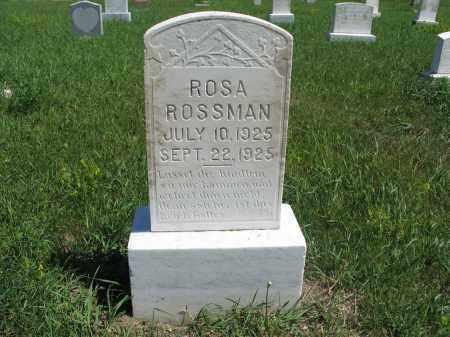 ROSSMAN 008, ROSA - Logan County, North Dakota   ROSA ROSSMAN 008 - North Dakota Gravestone Photos