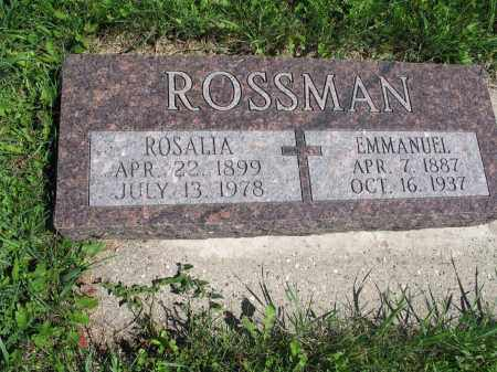 ROSSMAN 063, ROSALIA - Logan County, North Dakota | ROSALIA ROSSMAN 063 - North Dakota Gravestone Photos