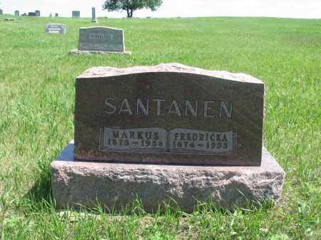 SANTANEN, MARKUS - Logan County, North Dakota | MARKUS SANTANEN - North Dakota Gravestone Photos