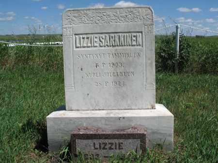SARKKINEN, LIZZIE - Logan County, North Dakota | LIZZIE SARKKINEN - North Dakota Gravestone Photos
