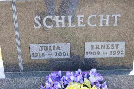 SCHLECHT, JULIA - Logan County, North Dakota | JULIA SCHLECHT - North Dakota Gravestone Photos