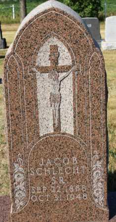 SCHLECHT, JACOB, SR. - Logan County, North Dakota | JACOB, SR. SCHLECHT - North Dakota Gravestone Photos